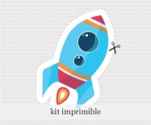 Kit Imprimible - Galaxia